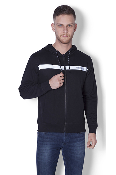 Gremly Zipper  Hooded Sweat Shirt