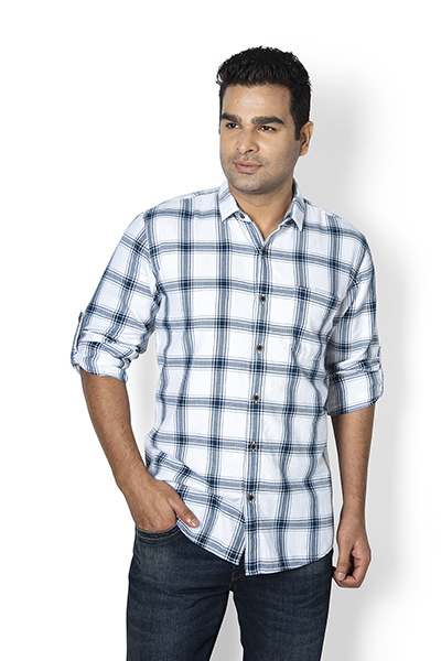 Rupert Y/d Check Herringbone Shirt