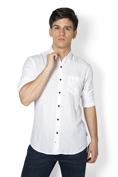 Joe Soild Linen Cotton Shirt