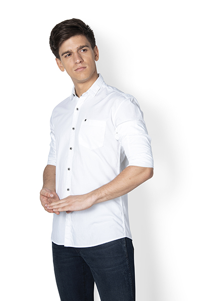 Richard Solid Poplin Shirt