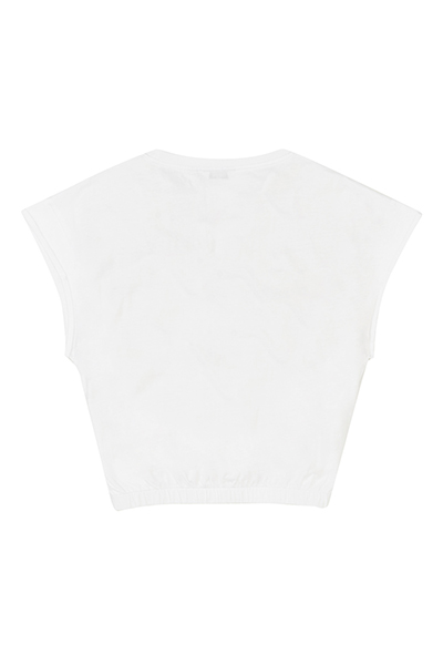 Cropped Graphic Tee