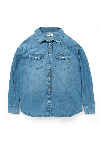 Oversized Denim Shirt