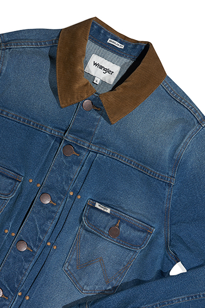 Denim Jacket (Corduroy Collar)